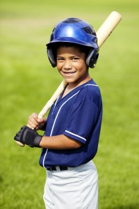 Boy Baseball Player